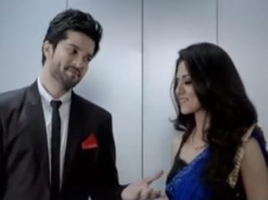Riddhi and Raqesh in Nach Baliye 6